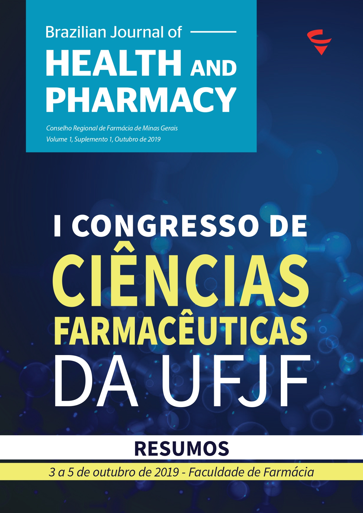 Capa Revista Cientifica BJHP V1 S1